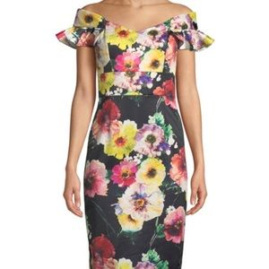 {David Meister} Floral Dress